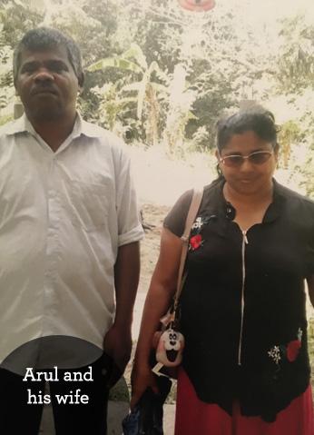 Blind couple in Sri Lanka