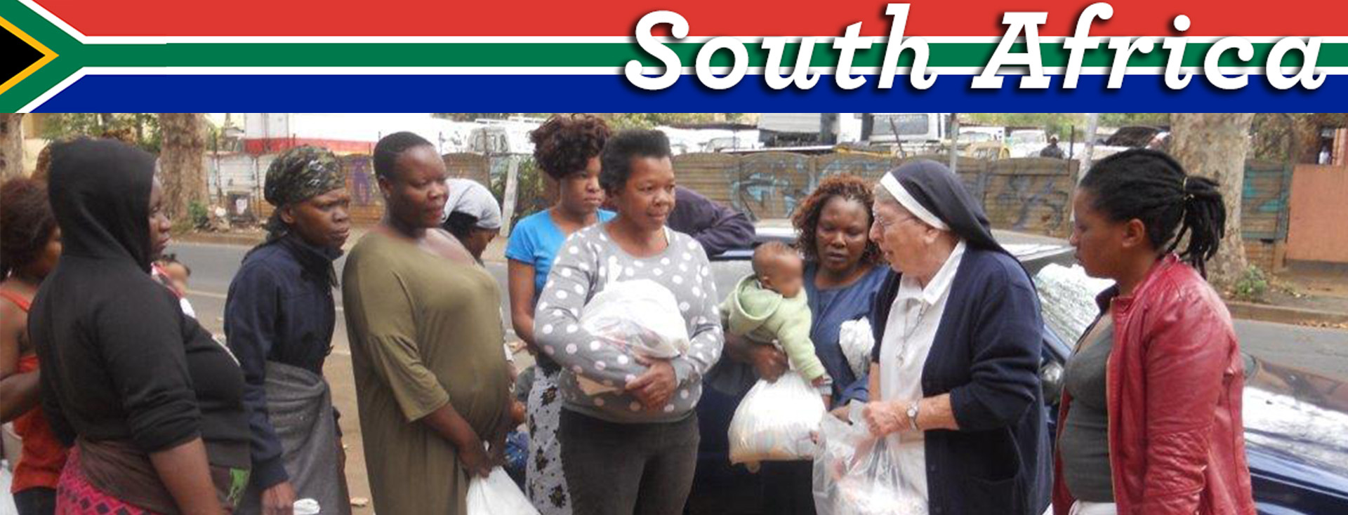 Donate to Catholic charities that serve the poor in South Africa