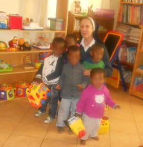 Help lift little ones out of poverty when you help the Sisters of Nazareth in their work in Johannesburg, South Africa!