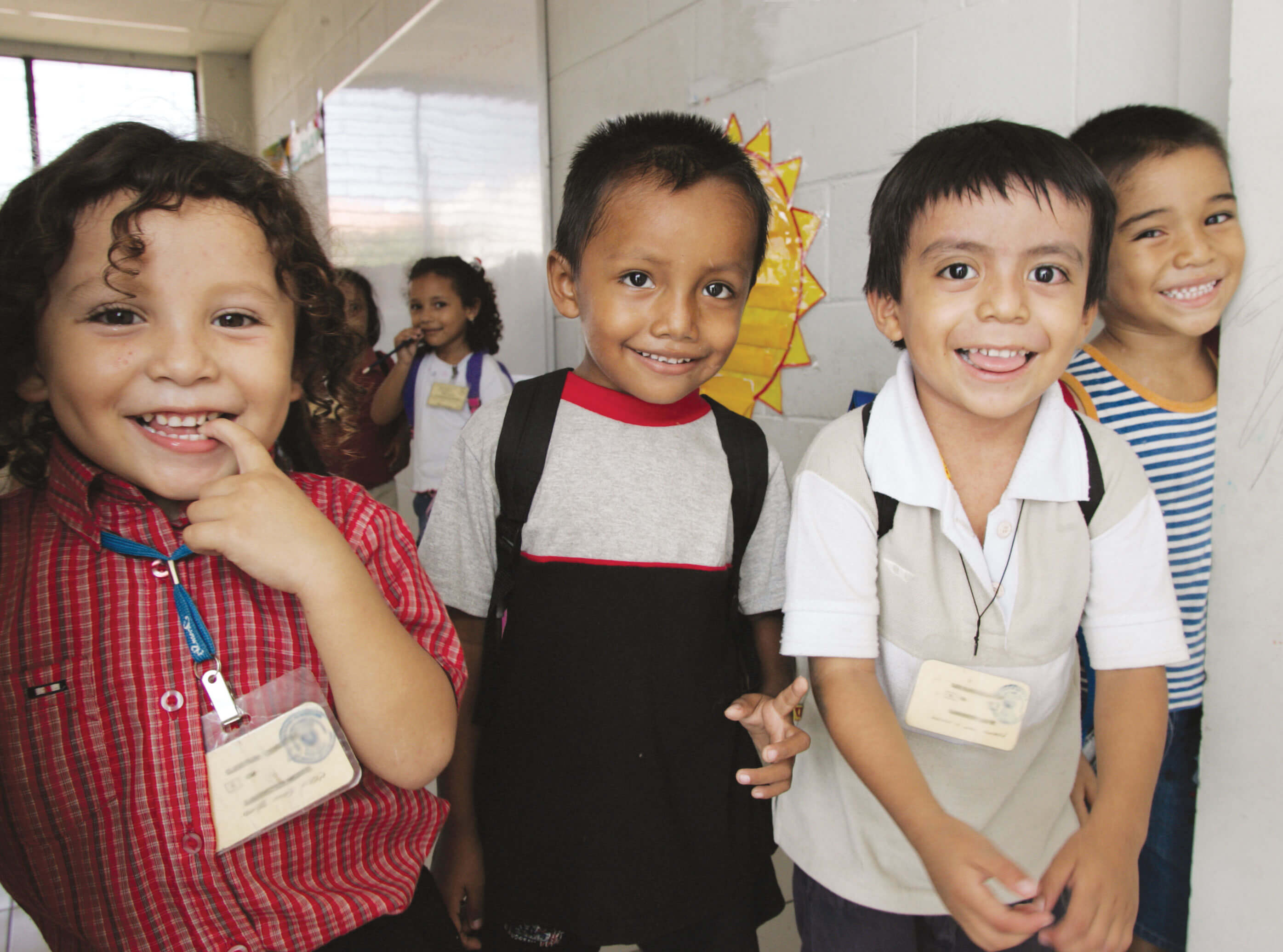 help students at mano amiga schools in Latin America