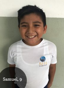 Samuel, 9, wants to be the President of Mexico when he grows up!