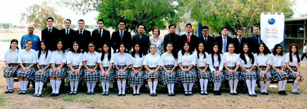 First class of Mano Amiga Torreon high school graduates