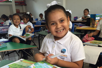 You can help children leave poverty behind when you give to Mano Amiga schools.