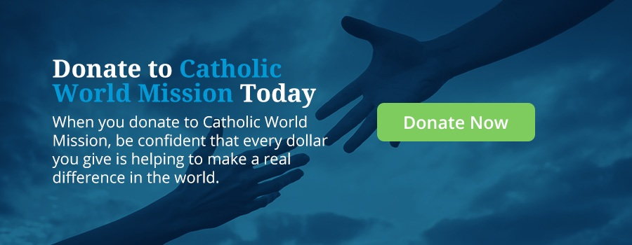 donate to Catholic World Mission