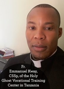 Father Emmanuel Kway, Tanzania