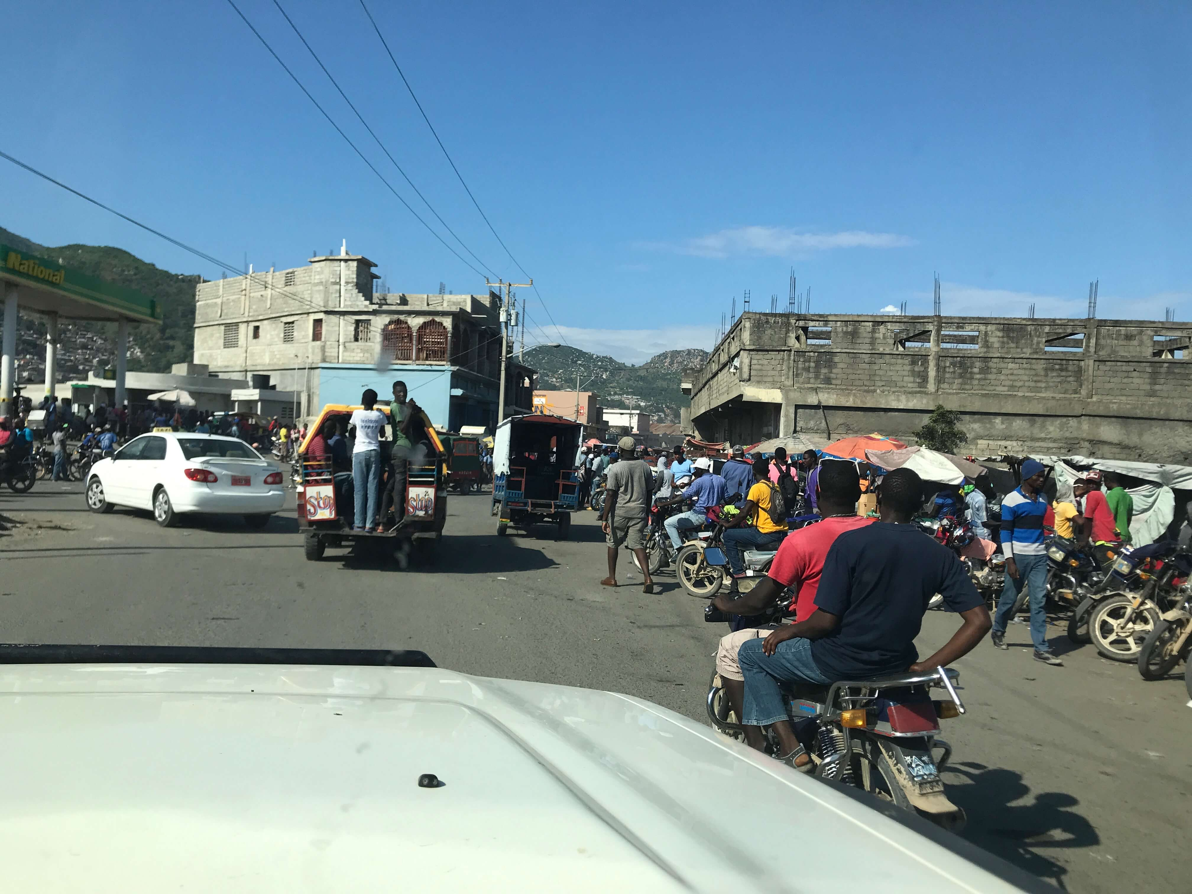 Local community in Cap-Haitien