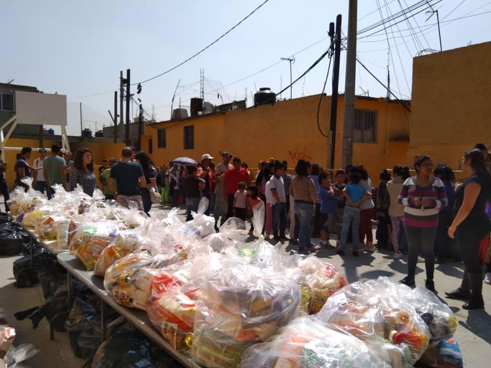 Foodstuffs delivered in Santa Lucia