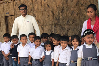 school in India that helps children learn about God