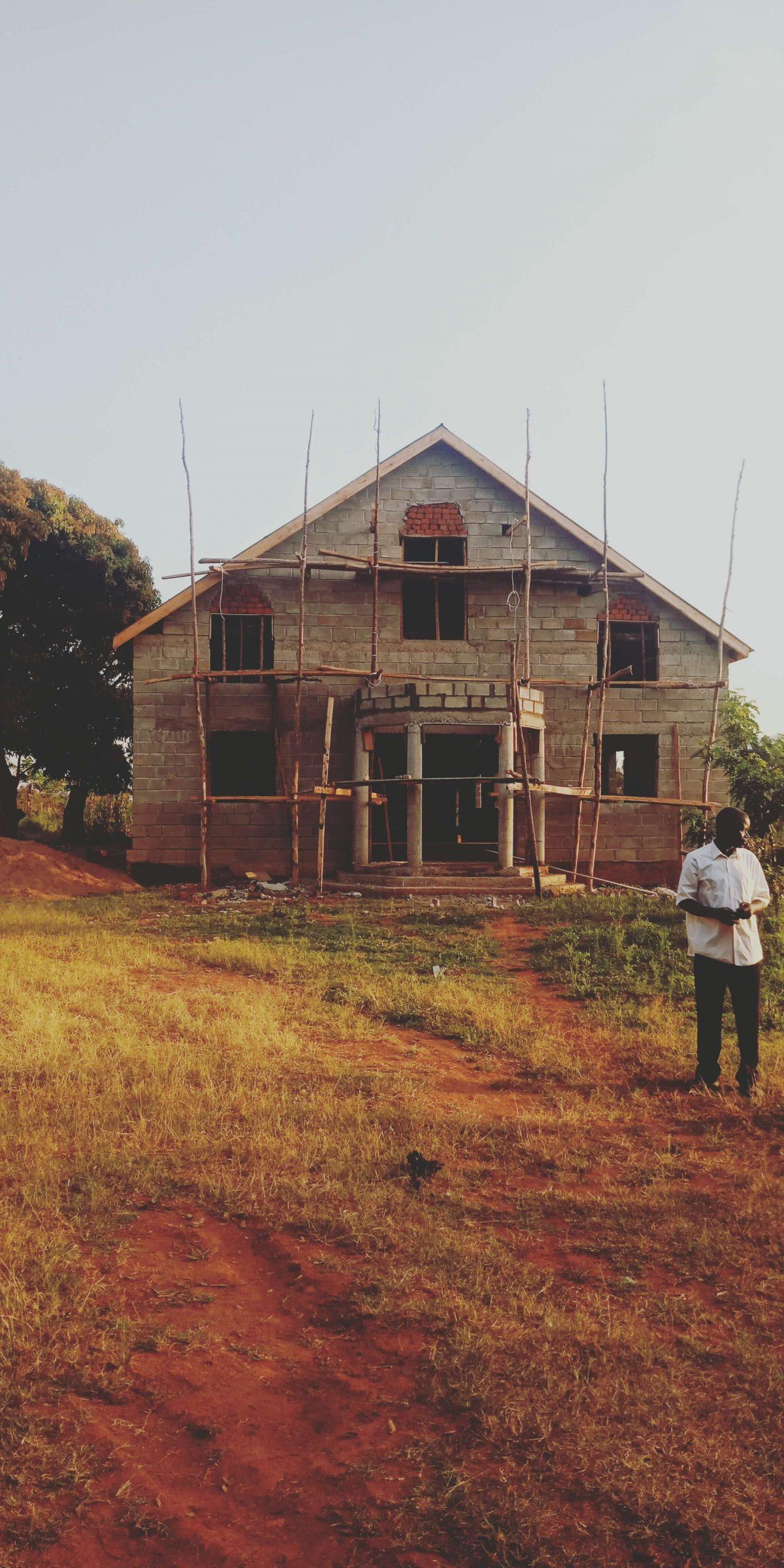 Uganda - New roof