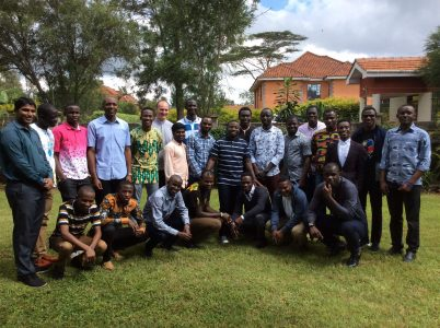 Seminarians from the Society of African Missions in Kenya