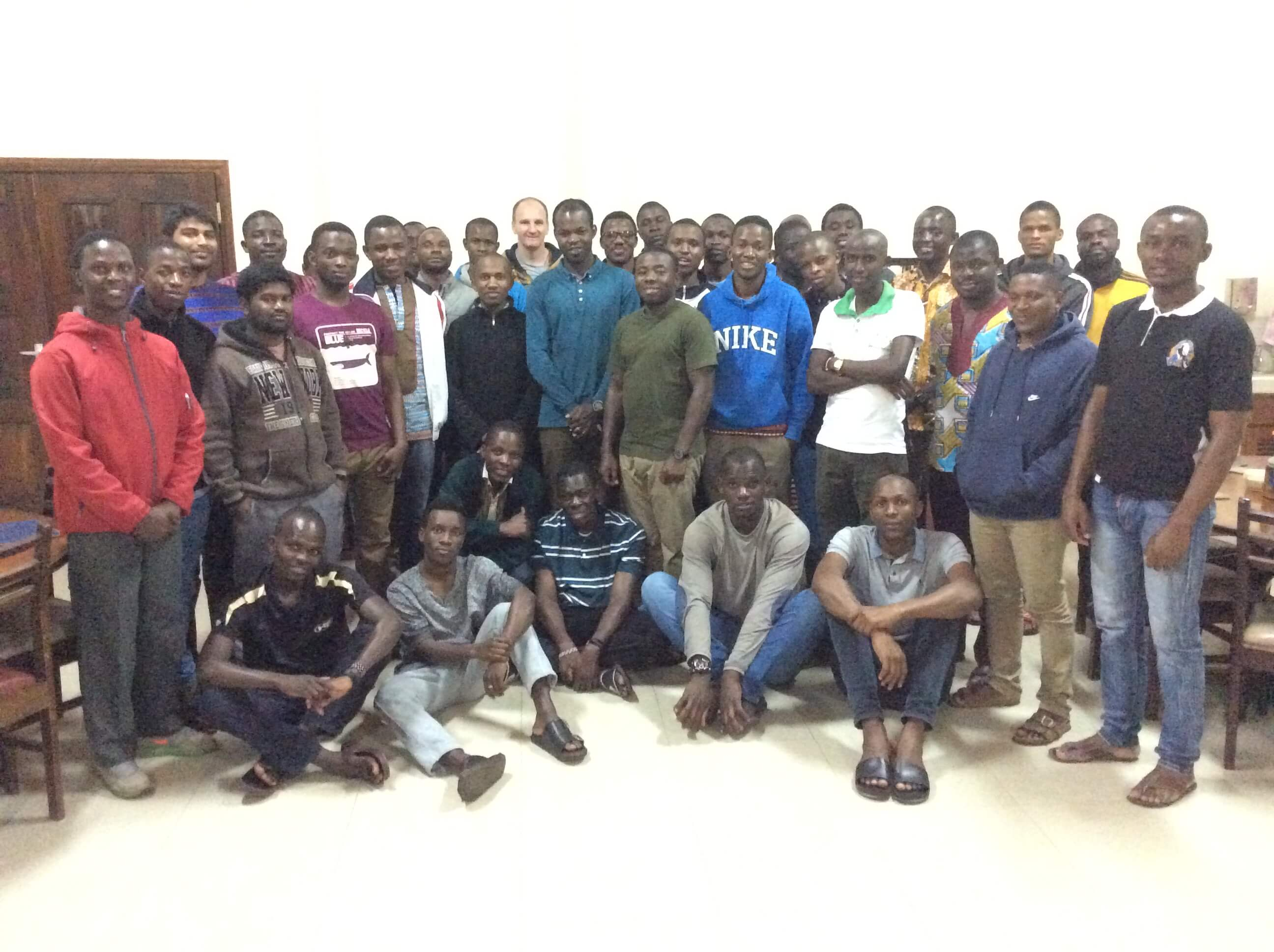 SMA Seminarians studying in Nairobi, Kenya