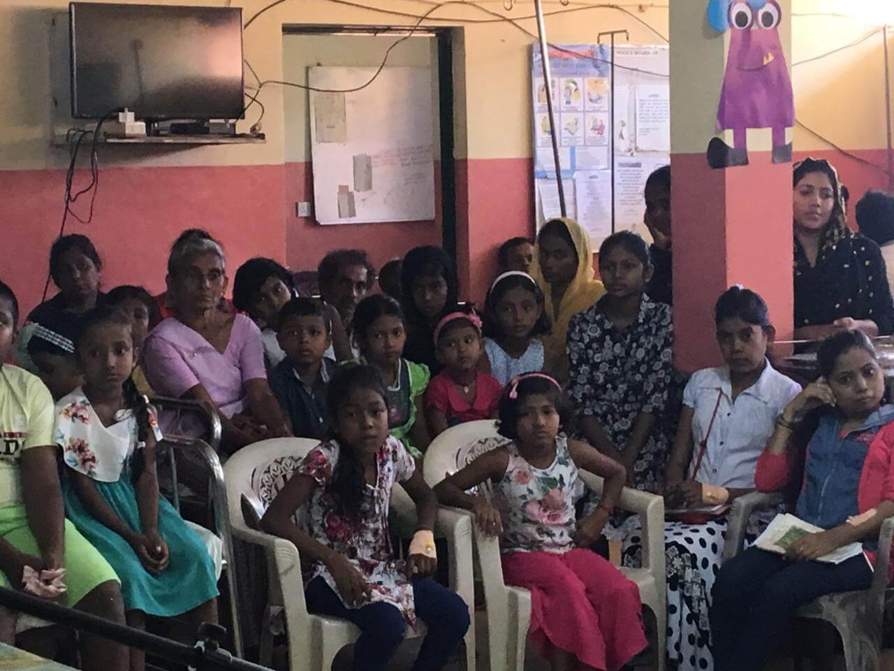 Special Christmas celebration for the sick children in Sri Lanka