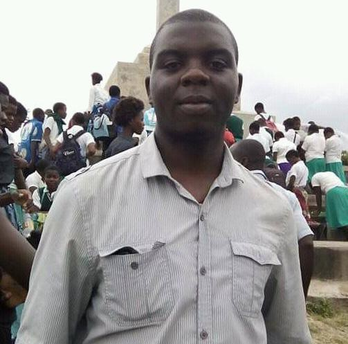 Student at Youth Career Clinic in Malawi