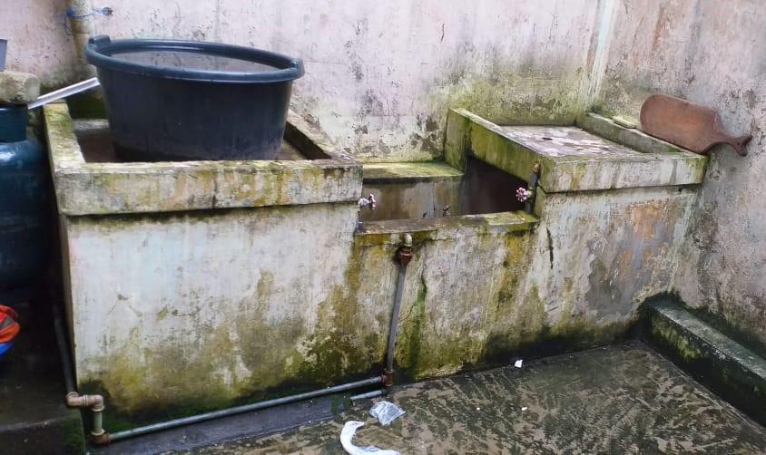 Ecuador current water filtration