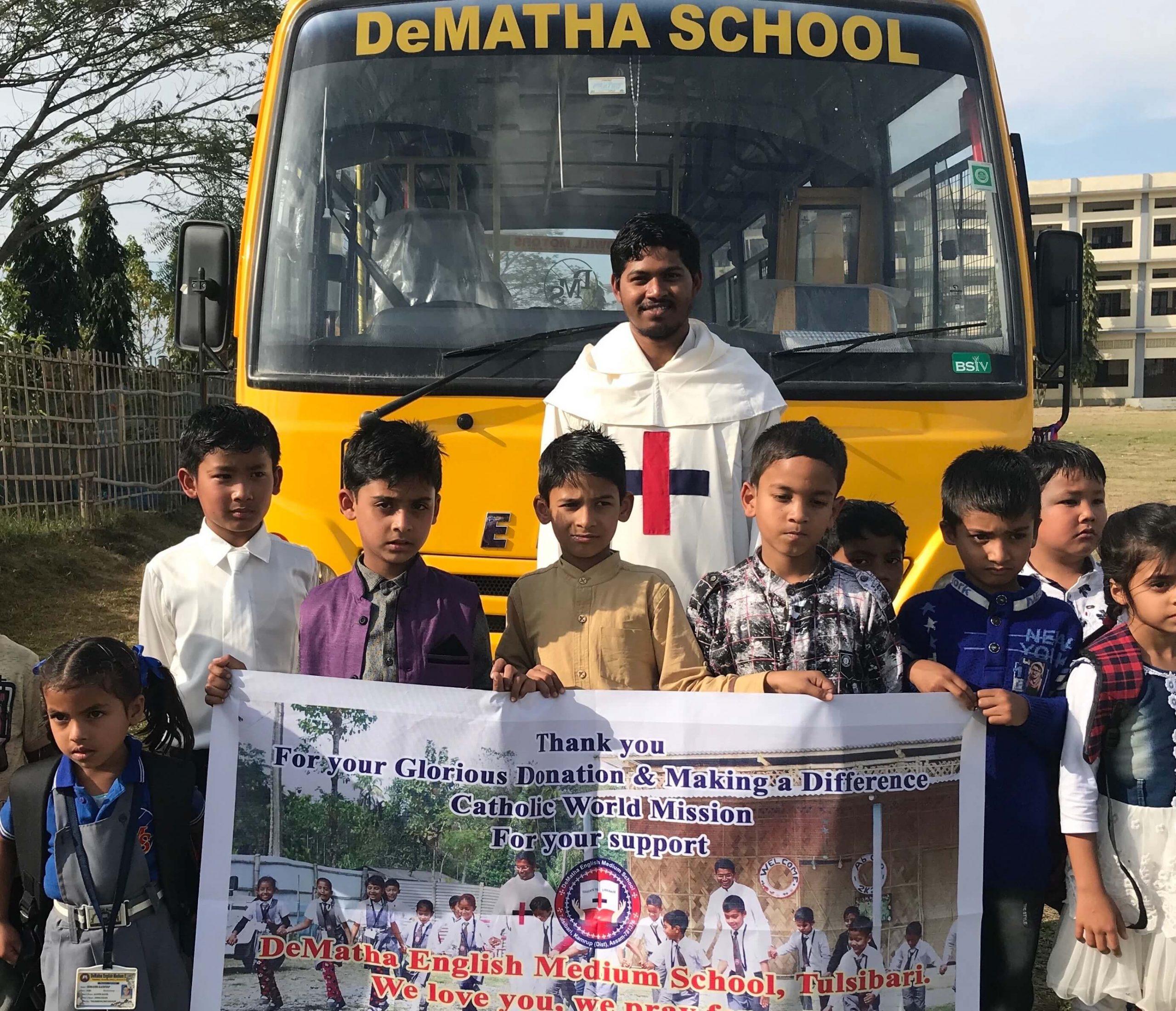India Trinitarian Fathers Bus