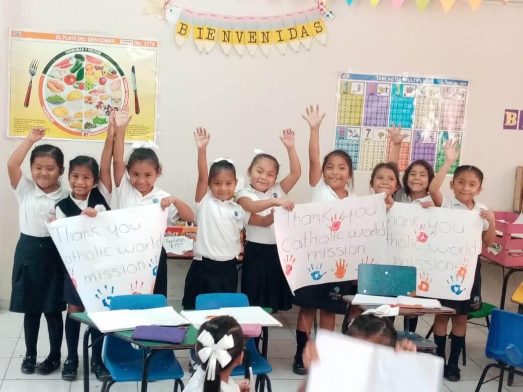 MA Cancun - children thank you
