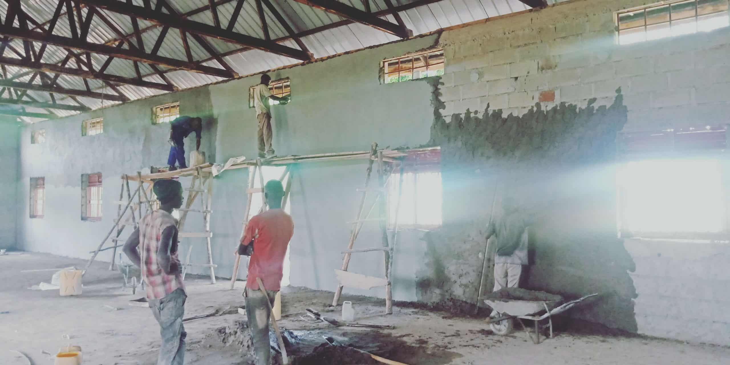 Uganda - St. Teresa Church Progress