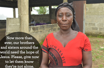 Now more than ever, the poor need you to give today so they know they're not alone.