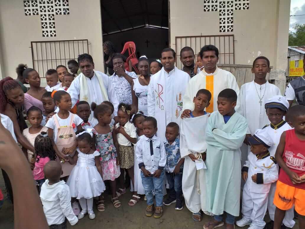 MSFS priests have already begun their outreach in Valdez Limones Islands
