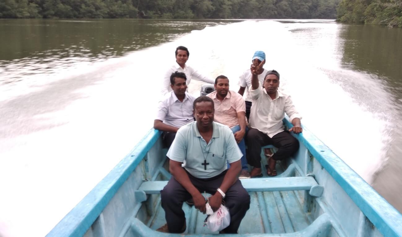 Boat evangelization