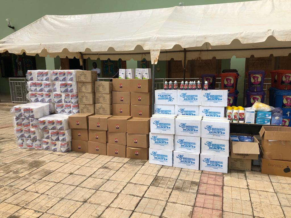 1. Supplies for local hospitals in Ghana
