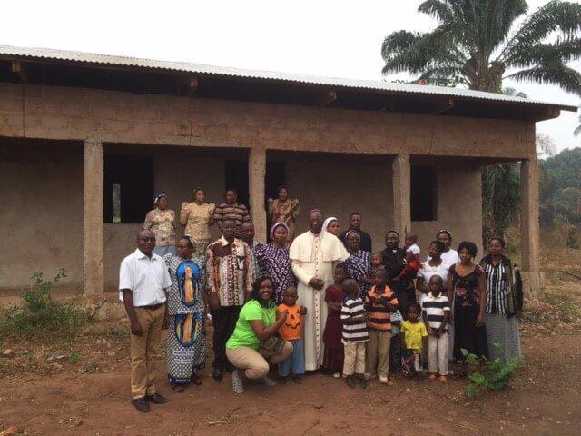 Dedication of the newly rebuilt Ndekesha orphanage, October 2018