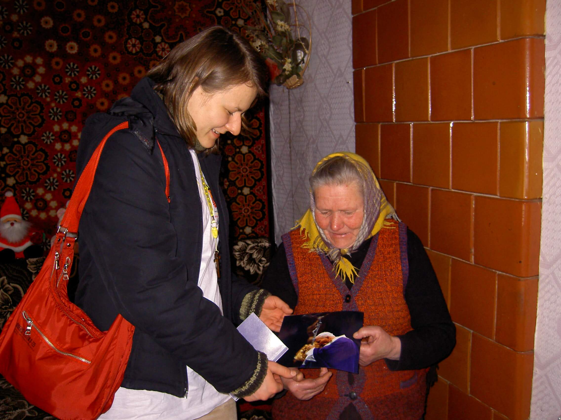 Outreach to the elderly poor of Poland