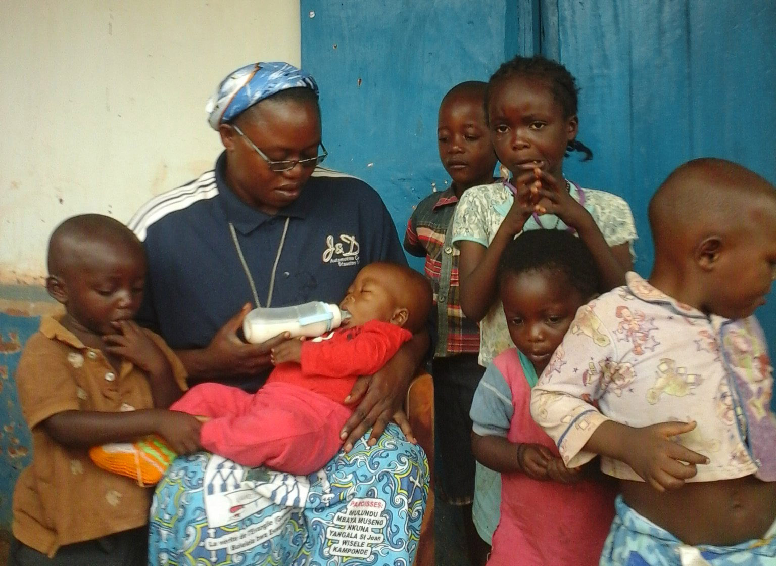 Peter Freissle has given crucial support to the Ndekesha orphans in DR Congo