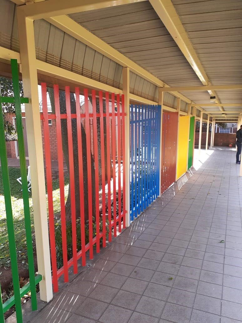 Security fencing around children\\'s home - South Africa