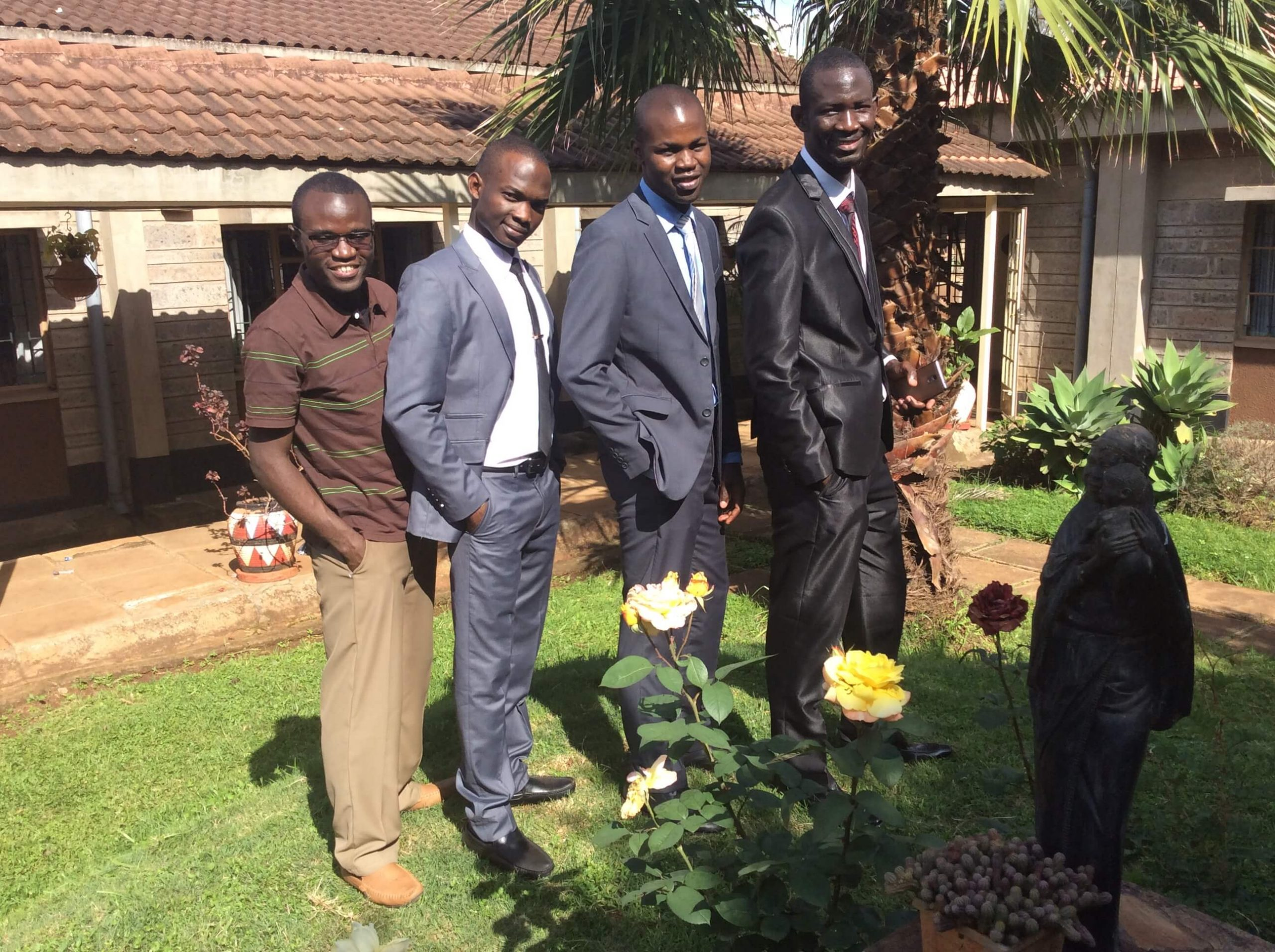 Seminarians from the Society of African Missionaries receive formation throughout Africa