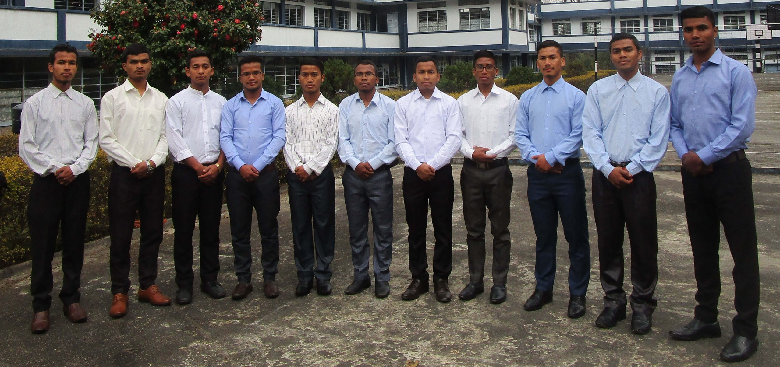 Seminarians of the Diocese of Jowai, India