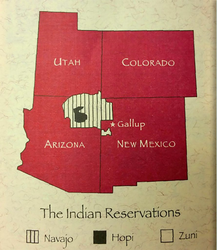 The Indian Reservations