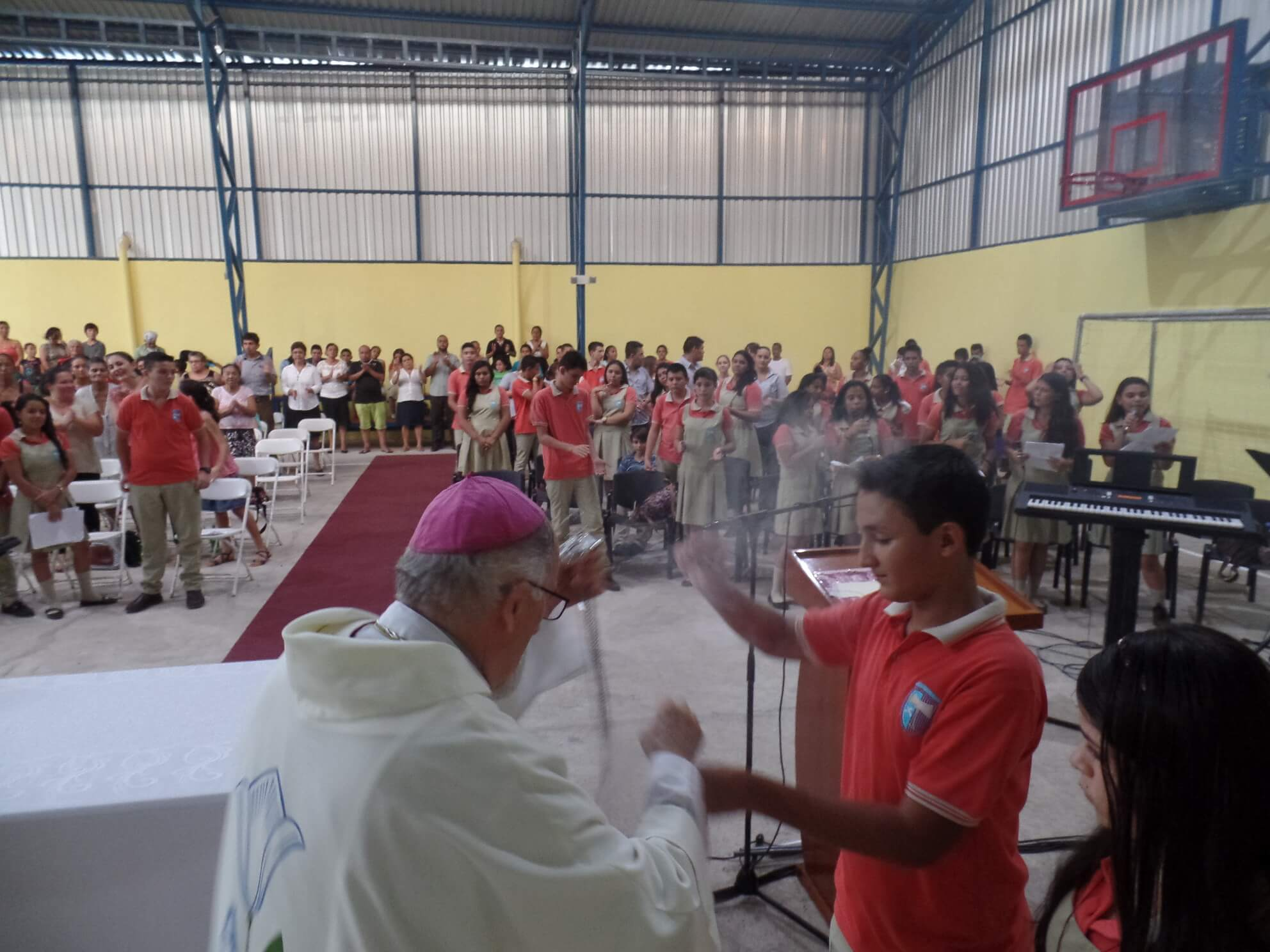 Costa Rica - All School Mass