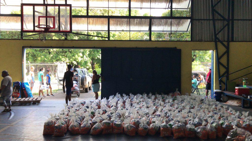 Costa Rica - Vittorino Girardi Gym used as COVID distribution_1