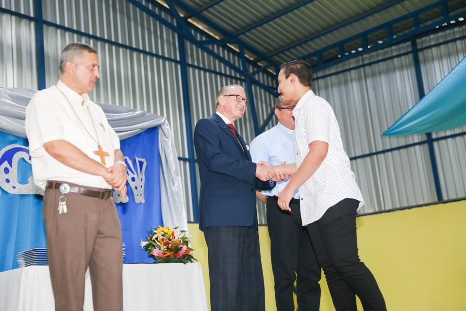 Costa Rica - Vittorino Girardi High School graduation 2019