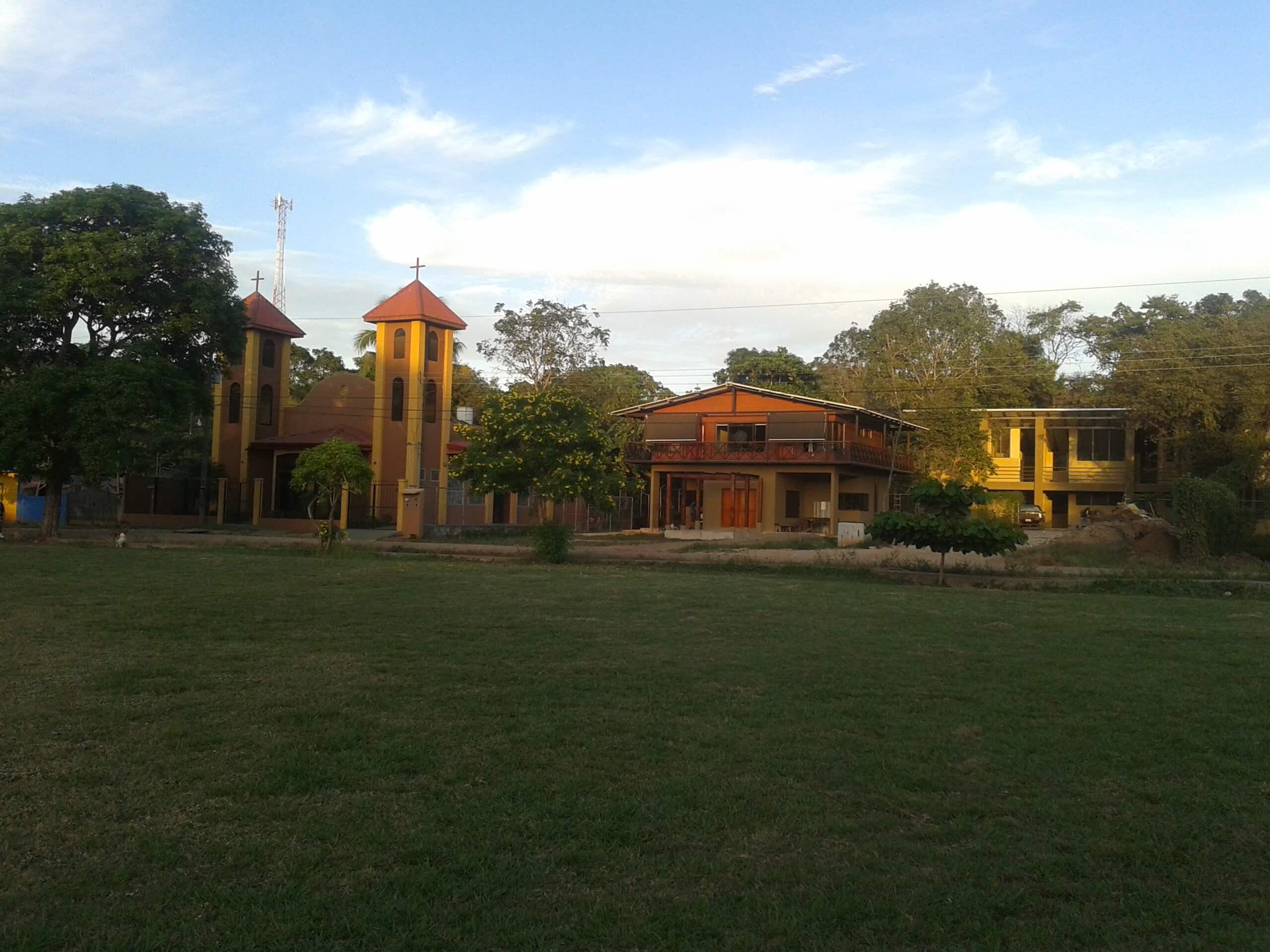 Costa Rica - church. nuns house and high school