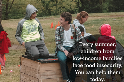 Every summer, children who rely on meals they receive at school face food insecurity. You can help today.
