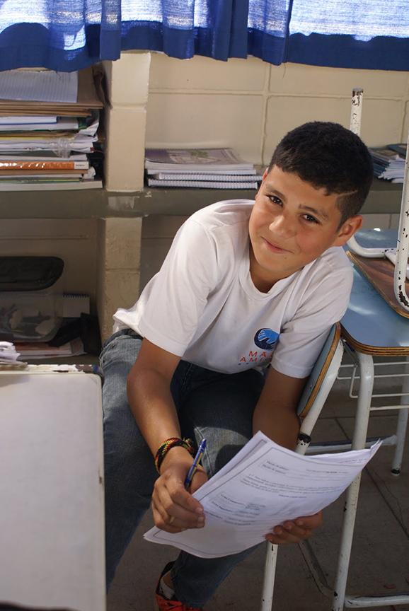 Mão Amiga students - Brazil