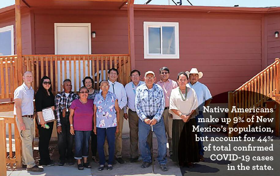 Gallup Nm- Native Americans- Covid-19