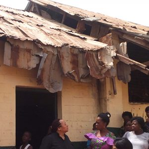 Nigeria School Roof repair