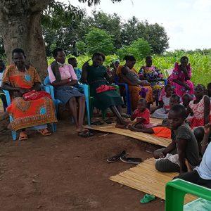 Ugandan outdoor mass