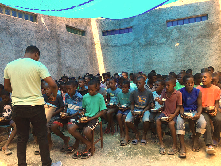 Catholic Missionaries working with Children in Haiti