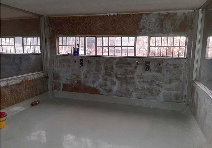 South Africa Nazareth house renovation