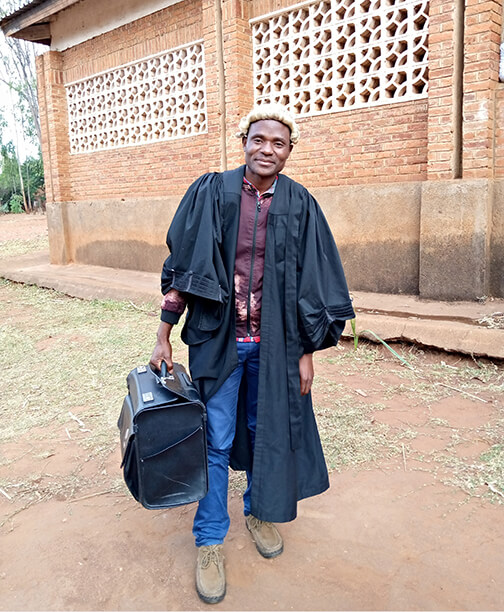 Lawyer from the Malawi Career Clinic