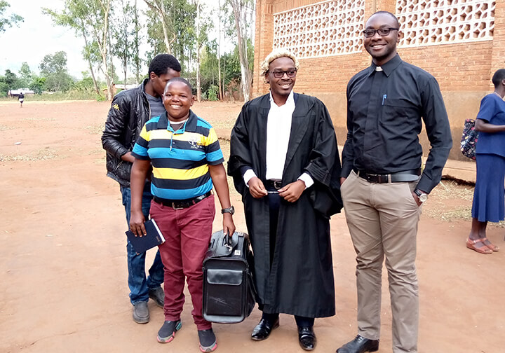 Lawyer helped by the career guidance program