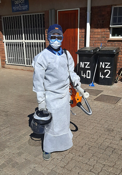 New equipment for Nazareth house during the pandemic