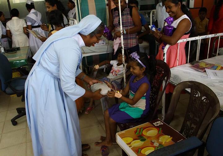 Sri Lanka Christmas Miracle for sick children