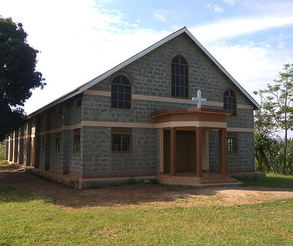 Uganda-St Teresa of Calcutta Church-progress
