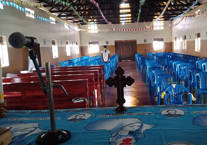 EV_Uganda_St Theresa Church inauguration_ pews