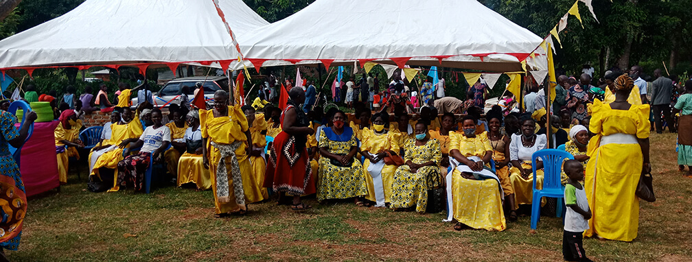 Uganda St Theresa Church inauguration- mass